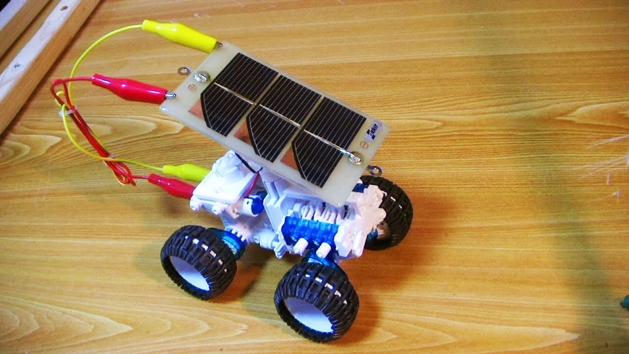4w Drive Educational Salt Solar Powered Car Youtube