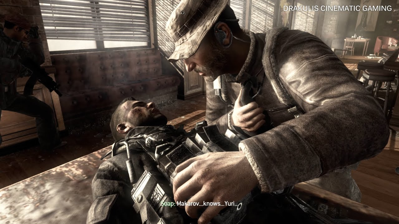 Soap S Death Blood Brothers Modern Warfare 3 4k Youtube