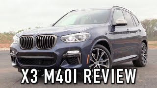 2018 BMW X3 M40i: Start Up, Test Drive & In Depth Review