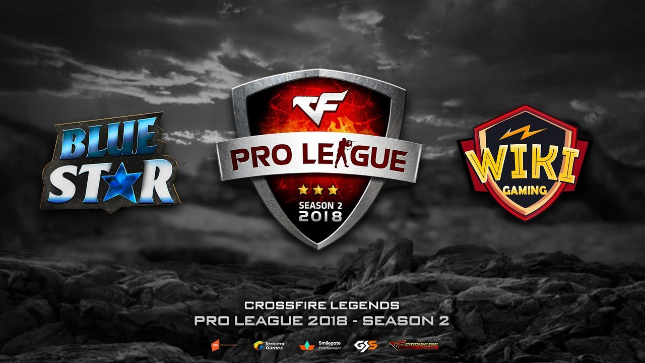 CFL | Pro League 2018 - Season 2 | Blue Star vs Wiki Gaming | BO2