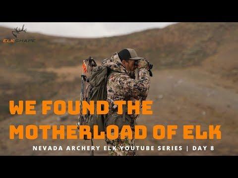 NV Archery Elk Day 8...We Found The MOTHERLOAD