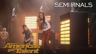 "Courtney Hadwin: Shy Teen Shocks Audience With ""Born To Be Wild"" - America's Got Talent 2018"