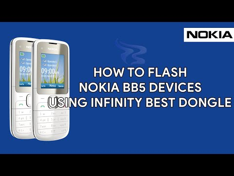 How To Flash Nokia BB5 Devices Using Infinity Best Dongle  - [romshillzz]