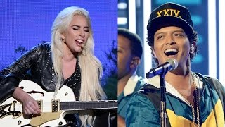 5 Best Performances of the 2016 AMAs - Bruno Mars, Ariana Grande