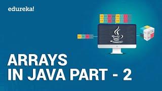 Arrays in Java - 2   Searching and Sorting Arrays in Java   Java Tutorial for Beginners   Edureka