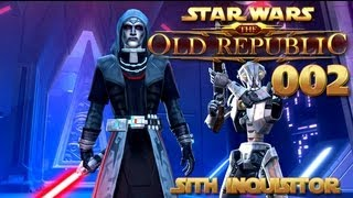Star Wars: The Old Republic - Sith Inquisitor Part 2 [Longplay] [HD 1080p]