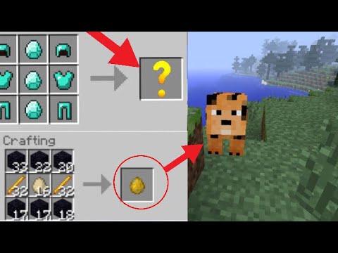 Minecraft 10 secret crafting recipes ps3 4 xbox wii for Minecraft xbox one crafting recipes