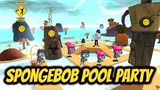 SpongeBob Pool Party (CoD WaW Custom Zombies)
