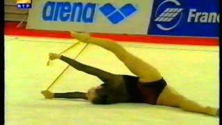 Ekaterina SEREBRIANSKAYA (UKR) rope - 1998 Europeans Porto EF
