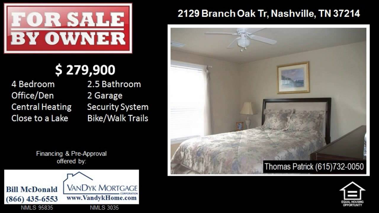 4 Bedroom House with Security System For Sale in Nashville TN