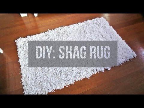 diy-||-soft,-fluffy,-white-shag-rug-|-area-rug-|-floor-rug