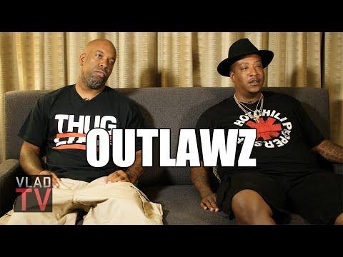 Edi (Outlawz) on Being w/ 2Pac in Vegas, Nobody Having Guns During Shooting