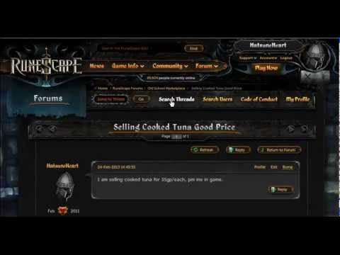 Old Runescape: How to buy and sell items in 2007 Runescape (3 different ways)