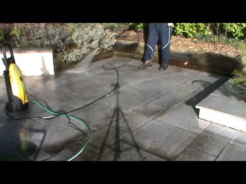 Cleaning Granite Patio with CLEAN-IT from TTP