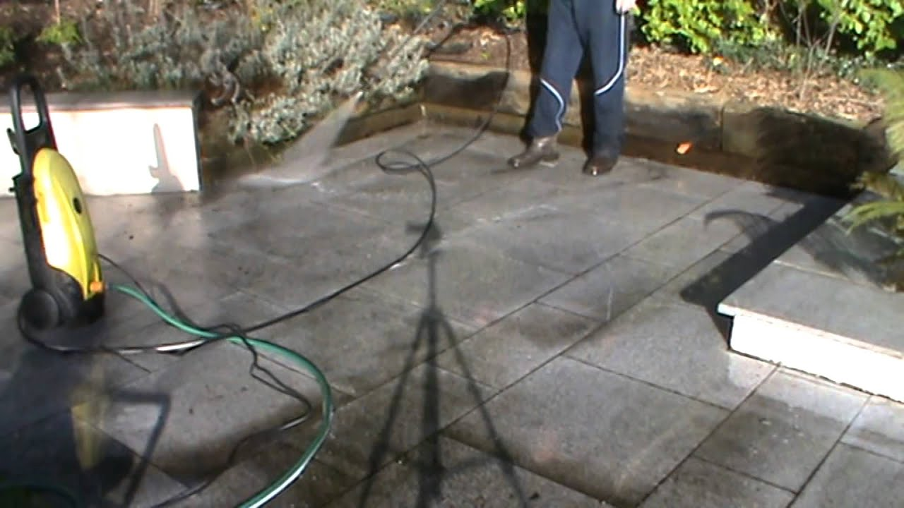 Cleaning Granite Patio with CLEAN IT from TTP