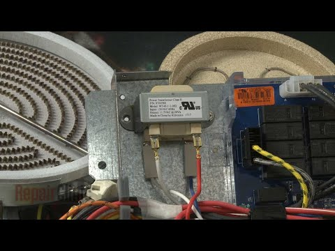 Transformer Replacement – Whirlpool Electric Cooktop (Model #G9CE3065XS01)