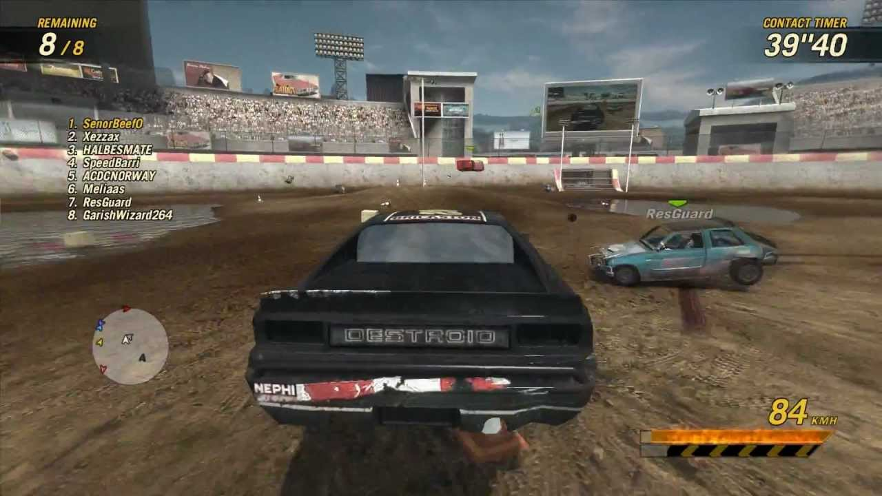 Car Demolition Games