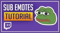 Twitch Sub-Emotes erstellen (Deutsch)