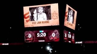 HC Sparta Praha - dětské utkání - představení hráčů