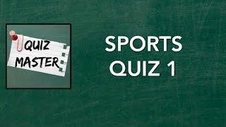 Sports Trivia #1 | QuizMaster