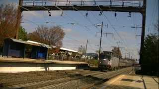 Amtrak/MARC Northeast Corridor Service At Seabrook, MD