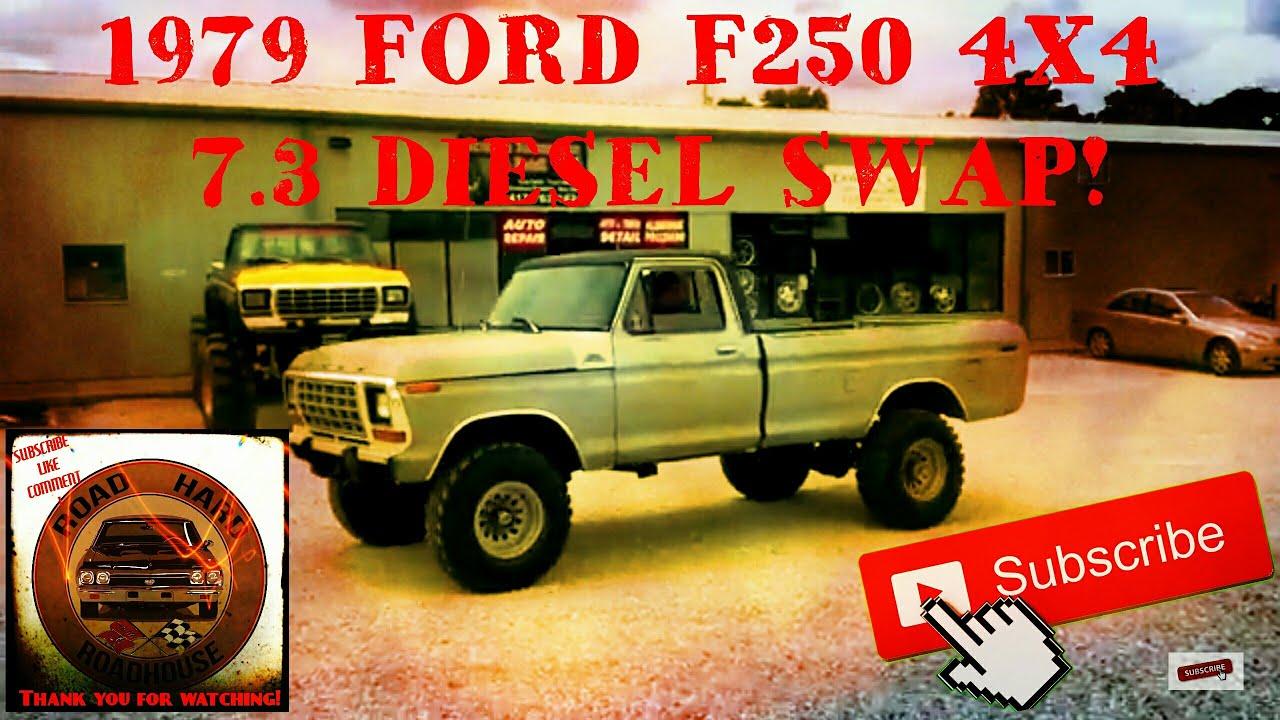 1979 Ford F250 7 3 Diesel Idi Swap Test Drive