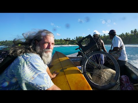 Welcome to Teraina ( Washington Island Kiribati ) - 4K VLOG 123