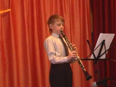 как играть на кларнете видео