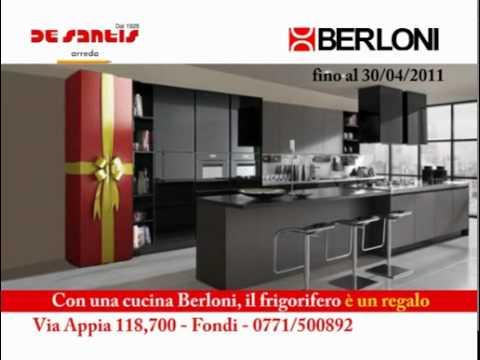 Spot ''De Santis Arreda'' Berloni Cucine offerta frigo - YouTube