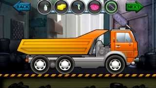 Cartoon about cars. Kids Truck Video - DUMP TRUCK. Wash Salon Truck. Мультики про Машинки. САМОСВАЛ.
