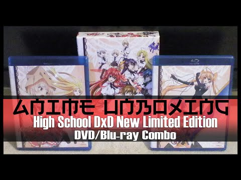 Anime Unboxing | High School DxD New (Season 2) Limited Edition [DVD/Blu-ray Combo]