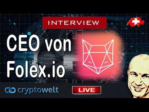 Interview mit CEO von Folex - neue Börse wird HEUTE launchen