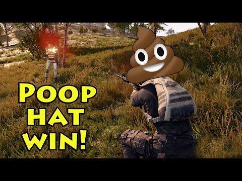 *Win* Poop Hat - Playerunknown's Battlegrounds