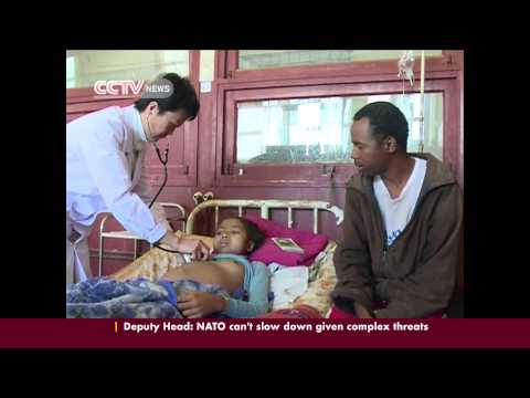 Chinese medical teams in Africa endure hardship to serve local patients