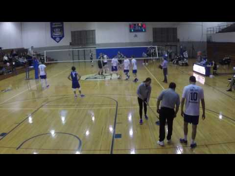 Barton College Men's volleyball vs Mount Olive 2016