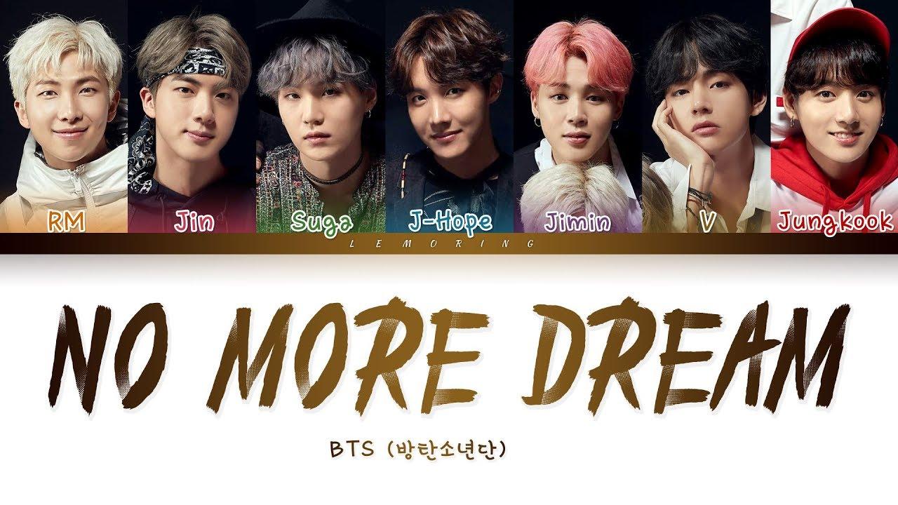 Bts No More Dream 방탄소년단 No More Dream Color Coded