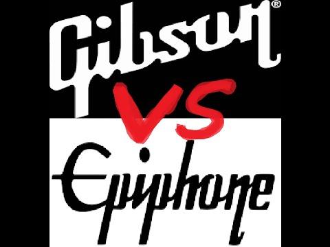 Gibson Les Paul vs Epiphone Les Paul