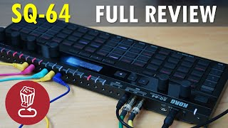 KORG SQ-64 Review and full tutorial