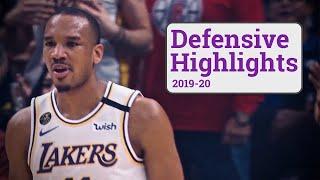 Avery Bradley Defensive Highlights | 2019-20