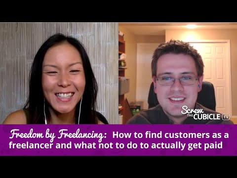 Freedom by Freelancing - How to get paid as a freelancer