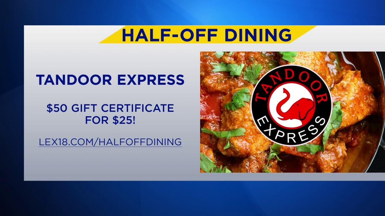 94fb7aff6db2f LEX 18 Half Off Dining Deal  Tandoor Express - YouTube