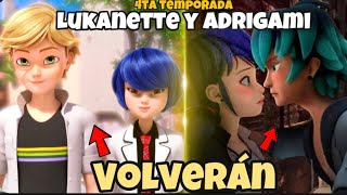 Adrien y Marinette VOLVERÍAN con Kagami y Luka en los PRÓXIMOS CAPÍTULOS de 4ta Temporada | RUMOR 🤔