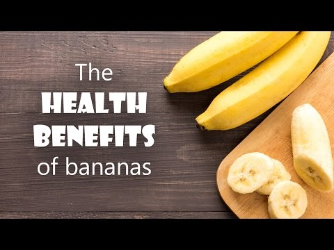 The health benefits of bananas   face   hair   skin   digestion   depression
