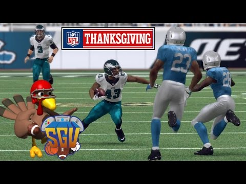 Madden 16 (Xbox One) - NFL Thanksgiving Day Sim: Lions vs Eagles