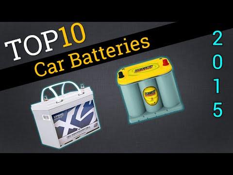 Top 10 Car Batteries 2015 | Best Car Battery Review