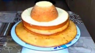 Коржи со сгущёнкой. Бисквит со сгущёнкой.Тесто со сгущёнкой. Торт со сгущёнкой.