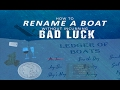 How to Rename a Boat or Yacht without incurring bad luck  Boat Renaming Ceremony