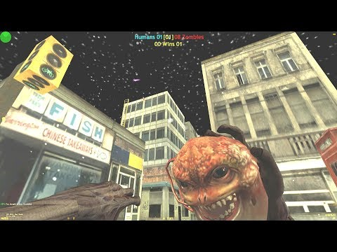 Counter-Strike CZ: Zombie Plague Mod - Zm_Rad City On SISA