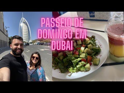 VLOG Domingo em Dubai – Burj Al Arab – Transporte Público – Março 2021