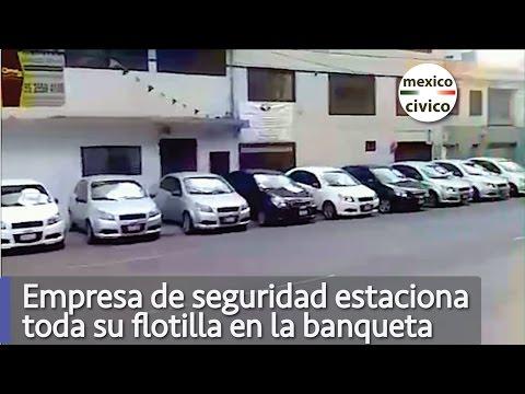 Gandallas estacionan toda su flotilla en la banqueta | Poder Anti Gandalla
